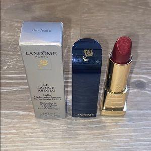 Lancôme Le Rouge Absolu Lipstick Bordeaux NWT